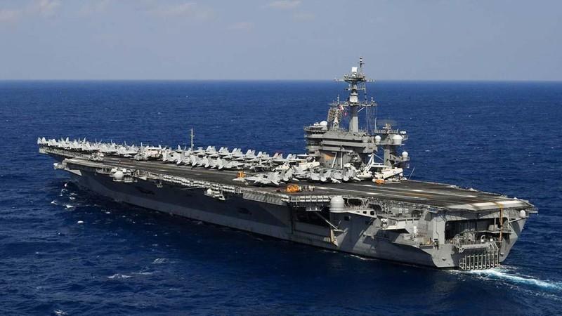 Mỹ đưa tàu sân bay vào phá thế cờ Trung Quốc giăng tại biển Đông