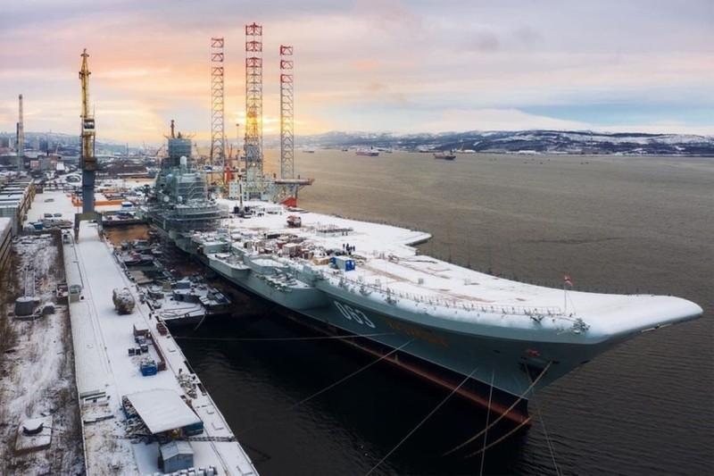 Lộ thời điểm tàu sân bay Đô đốc Kuznetsov được quay lại biển lớn