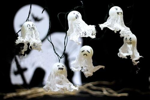 """3 y tuong trang tri phong ngu Halloween rung ron """"chat"""" ngat"""