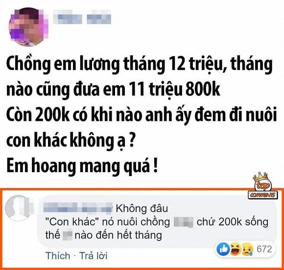 Hoi chi em cam het tien luong ,canh may rau biet phai song sao?