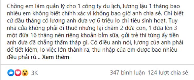 Chong len cho em gai tram trieu con bao khong can noi voi vo