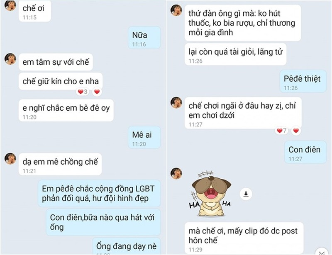 Viet Huong het hon khi nam dong nghiep
