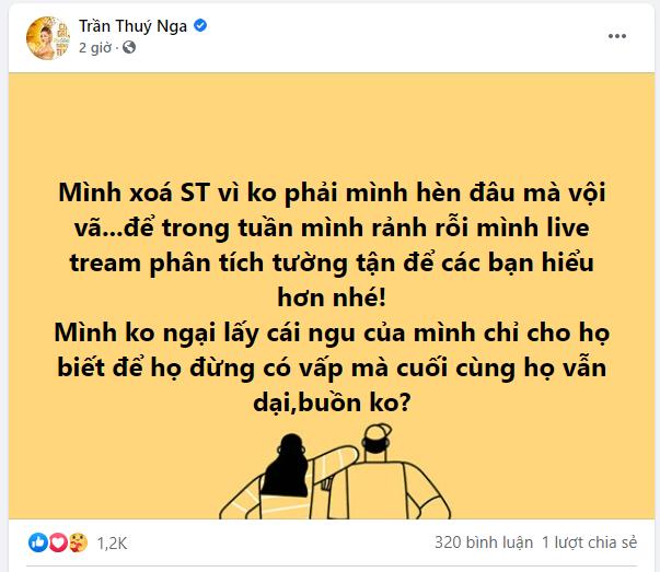 Ban vo cu Hoang Anh dap tra Thuy Nga sau status day do-Hinh-6