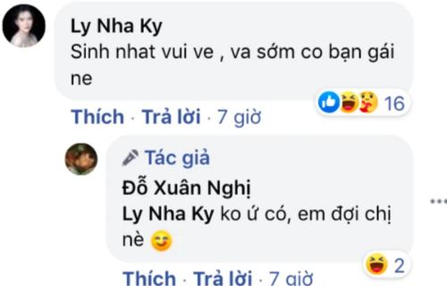 Xuan Nghi bat ngo tuyen bo chua co ban gai de doi Ly Nha Ky