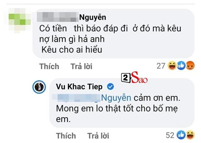 Vu Khac Tiep bi xoc xiem khi liet ke cac