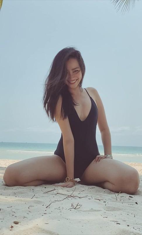 MC Quyen Linh khoe anh hai con gai xinh dep, cao vuot bo-Hinh-12