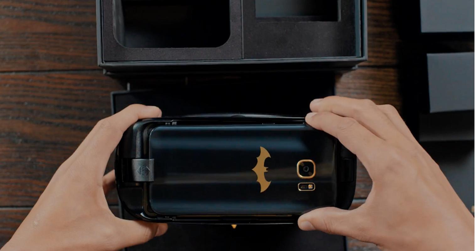 Anh chi tiet dien thoai Samsung Galaxy S7 Edge phien ban Batman-Hinh-7