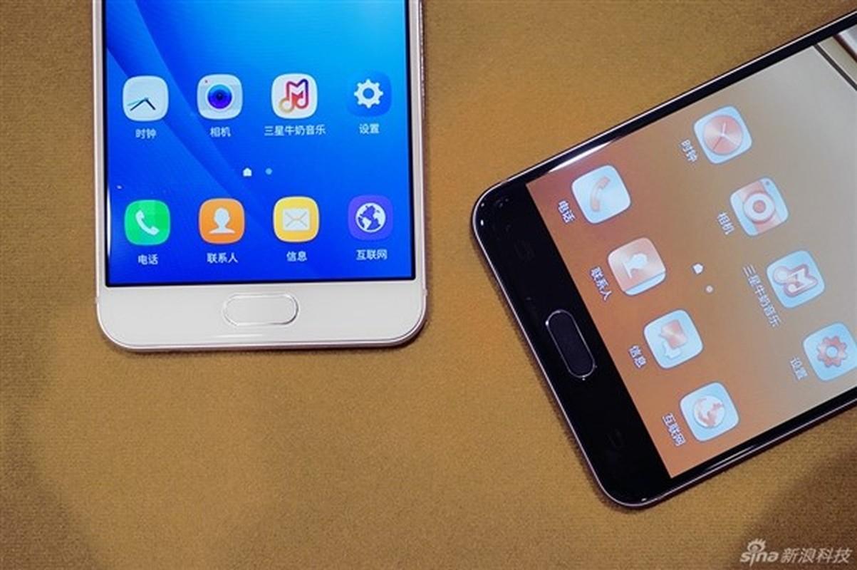 Anh thuc te 2 dien thoai sieu mau Samsung Galaxy C5, C7-Hinh-3