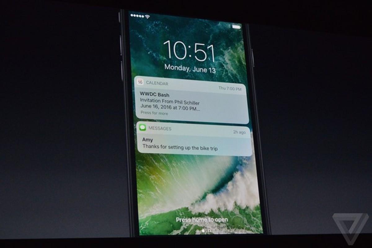 10 tinh nang moi tren he dieu hanh iOS 10