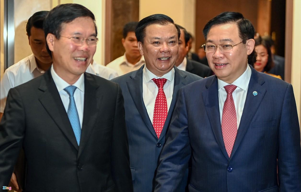 Tan Bi thu Ha Noi Dinh Tien Dung cam ket no luc, phat huy van hoi-Hinh-2