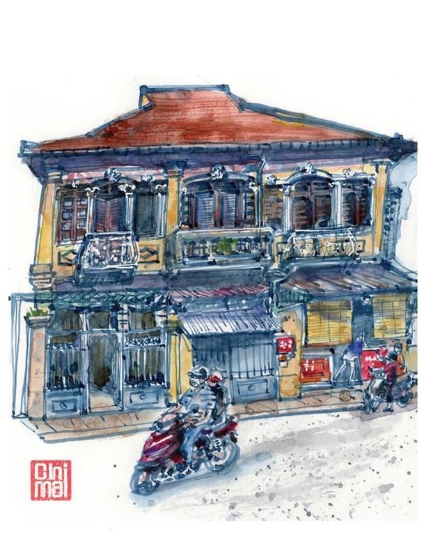 Nha co quanh Cho Ben Thanh va Cho Lon qua nhung buc ky hoa-Hinh-12