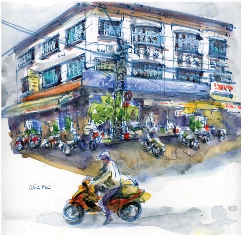 Nha co quanh Cho Ben Thanh va Cho Lon qua nhung buc ky hoa-Hinh-5