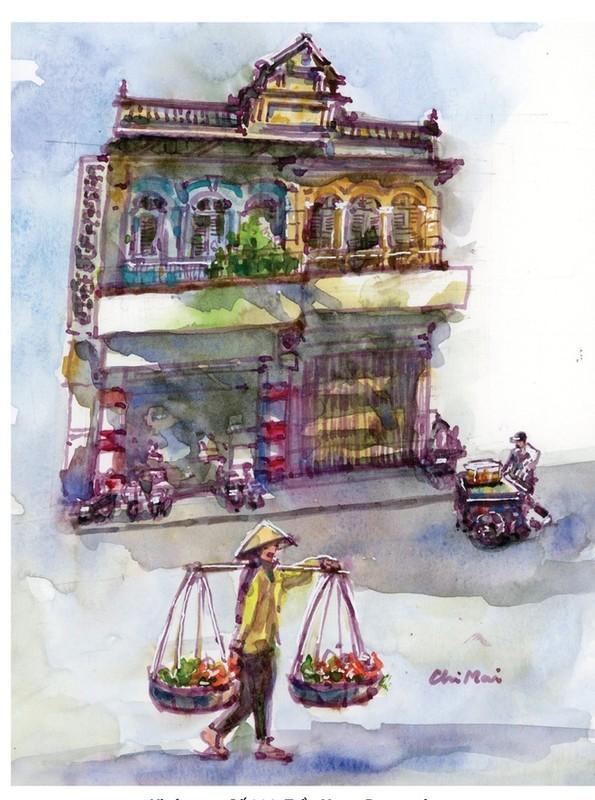 Nha co quanh Cho Ben Thanh va Cho Lon qua nhung buc ky hoa-Hinh-9