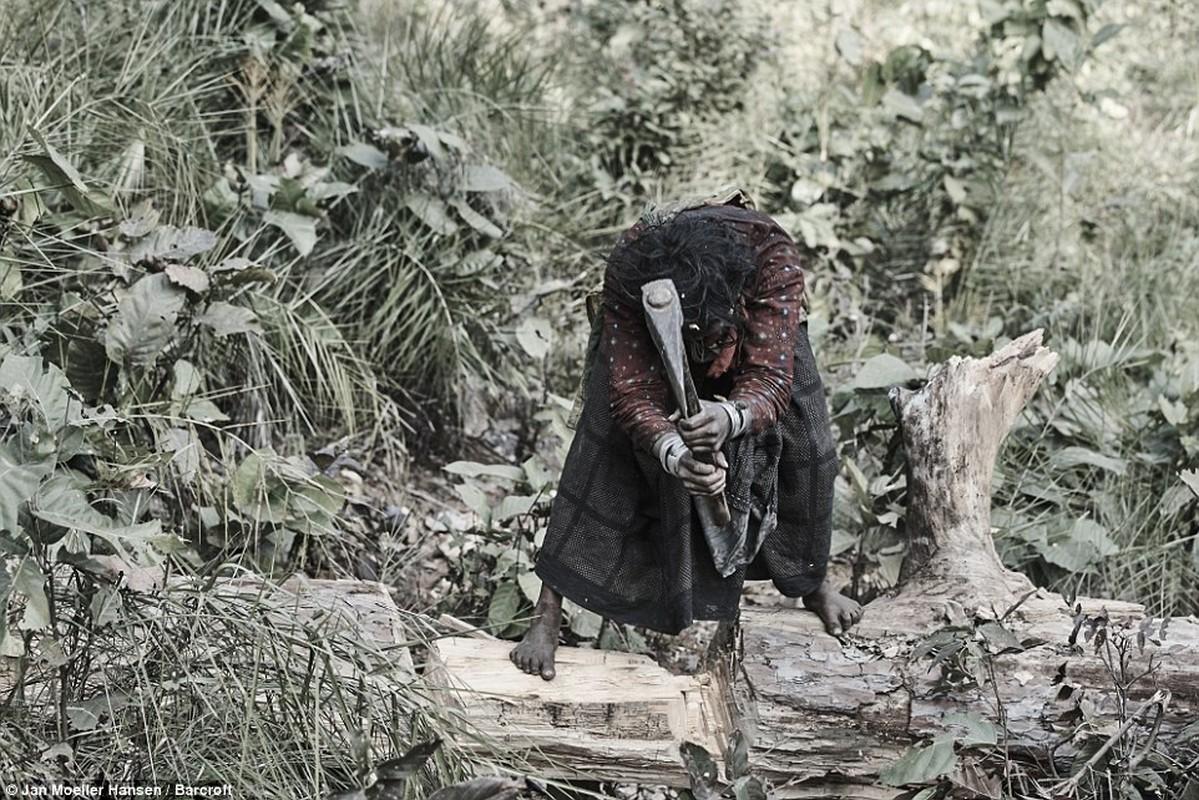 Cuoc song cua bo toc du muc Raute trong rung ram Nepal-Hinh-7