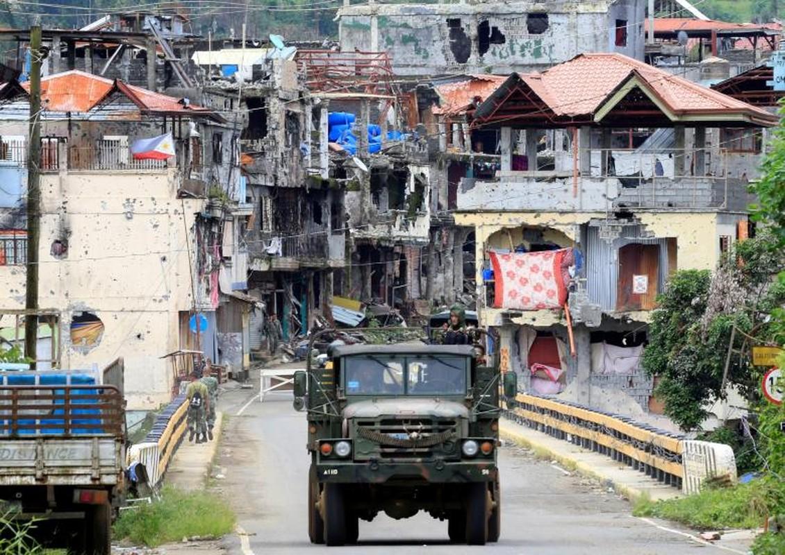 Cuoc song hoi sinh o thanh pho Marawi moi giai phong