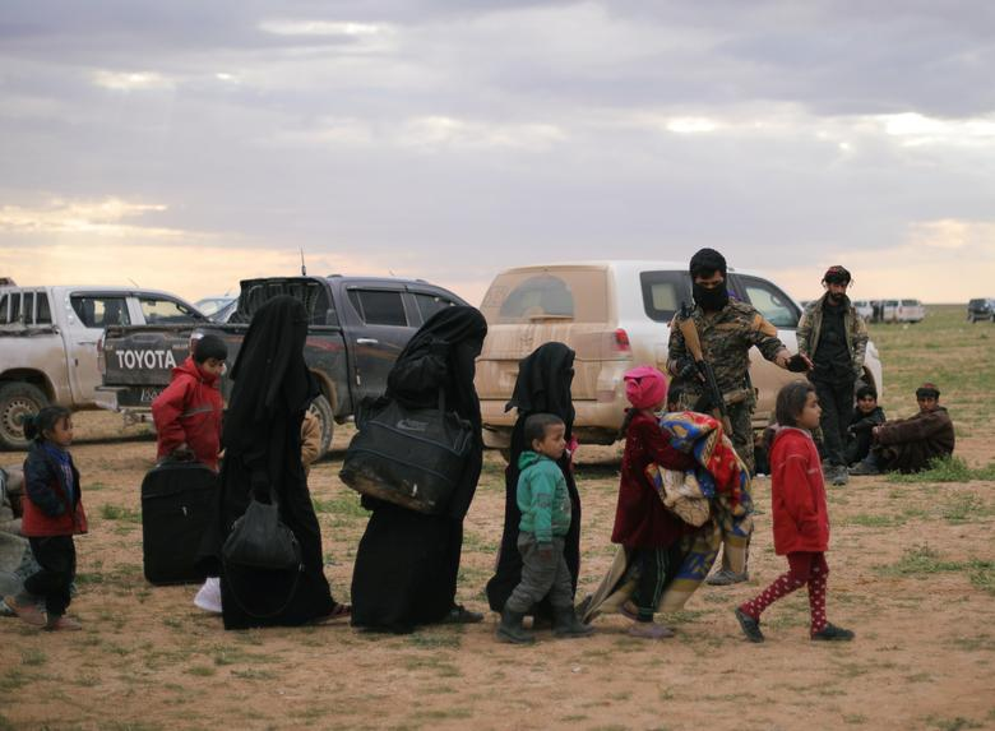 Hinh anh moi nhat trong thanh tri cuoi cung cua IS tai Syria