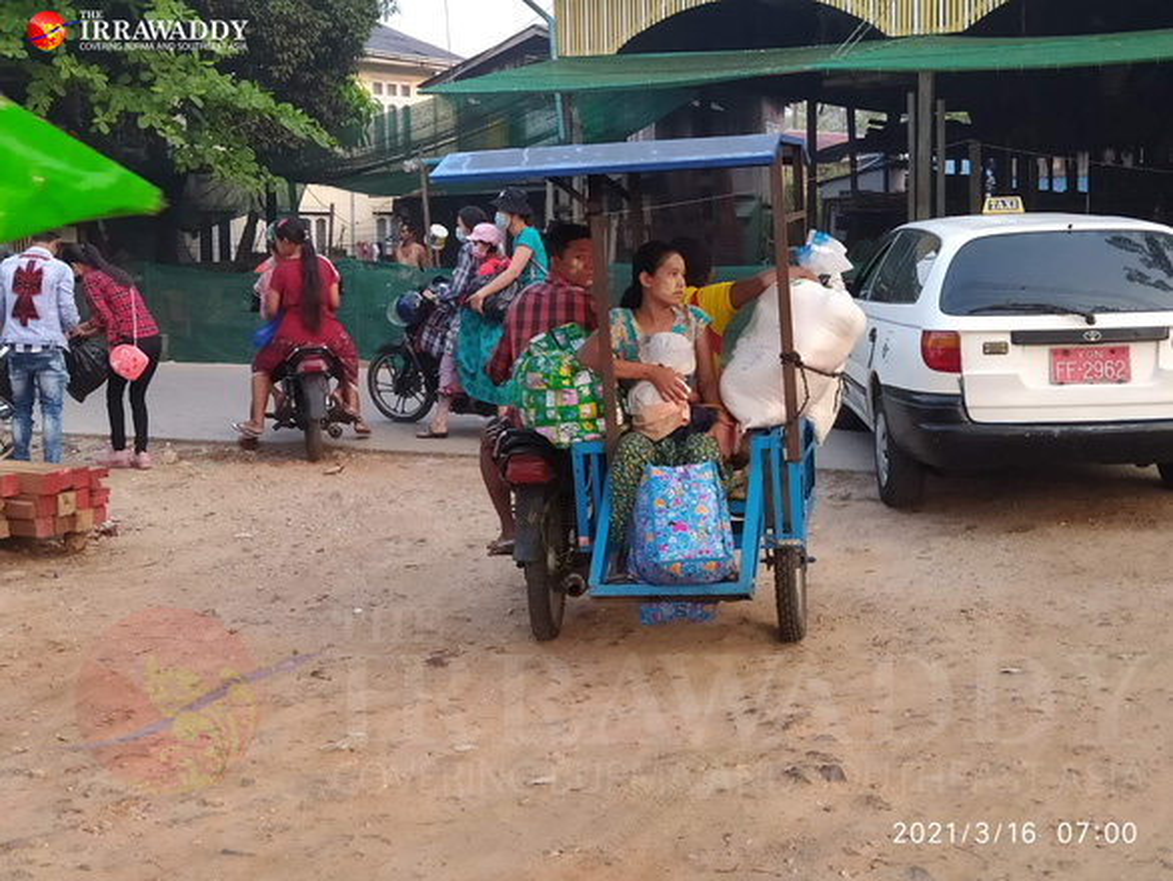 Thanh pho Yangon ra sao sau lenh thiet quan luat?