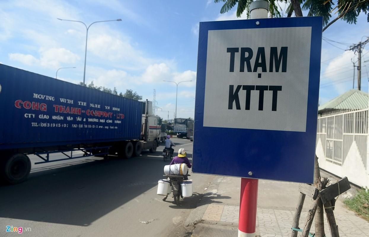 Anh: Tram can xe tu dong 25 ty lam xong bo hoang o Sai Gon