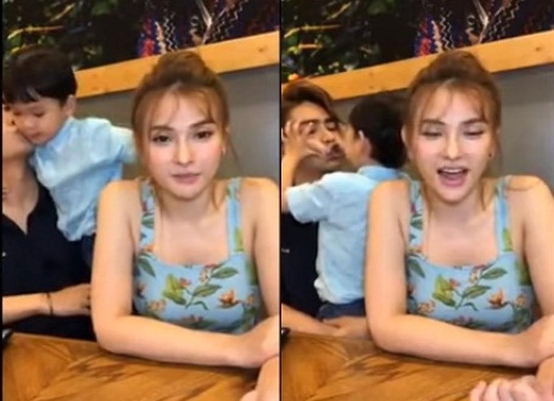 Chong Thu Thuy the nao sao on ao bao hanh con rieng cua vo?