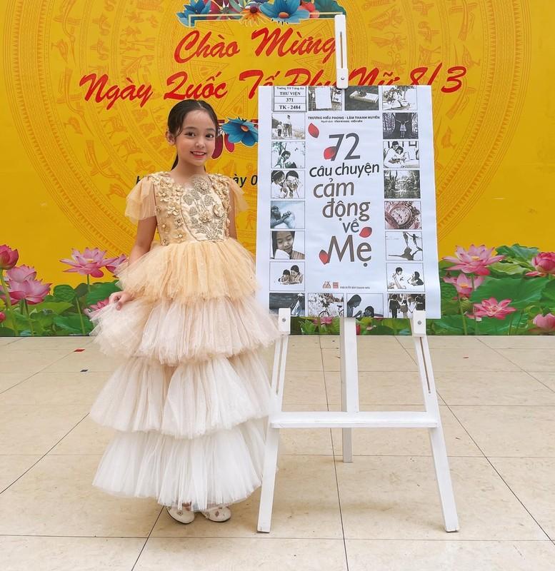 """""""Con gai Viet Anh"""" trong """"Huong duong nguoc nang"""" dung chuan tieu my nhan-Hinh-4"""
