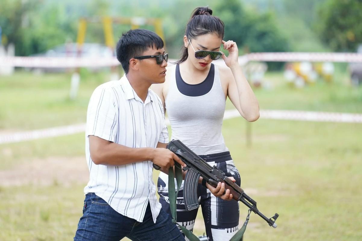 """Ky Duyen hoa """"nu chien binh"""" goi cam ben Mui truong Long-Hinh-3"""