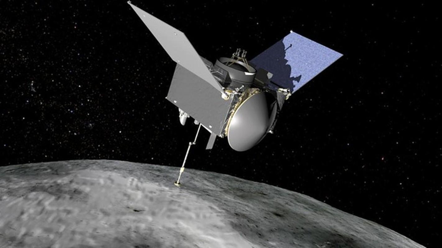 Tau NASA lay mau tieu hanh tinh Bennu mat... 5 giay-Hinh-7