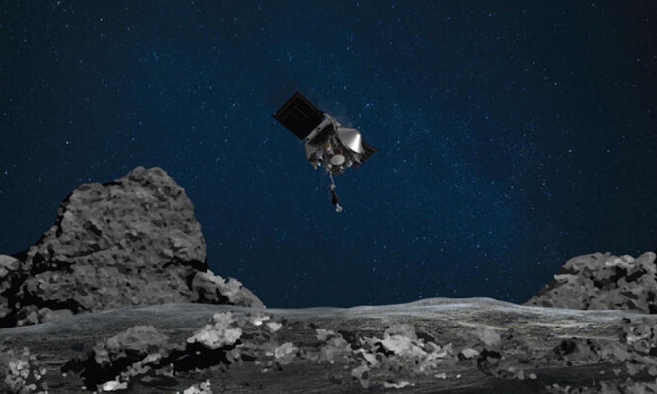 Tau NASA lay mau tieu hanh tinh Bennu mat... 5 giay-Hinh-9