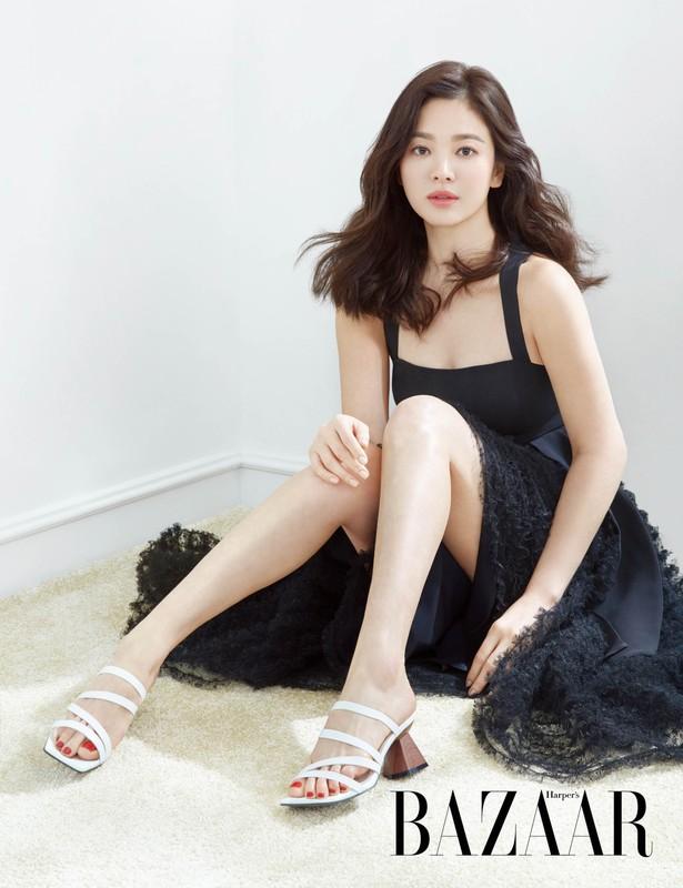 Song Hye Kyo kin dao hap dan, dung hoi Hyun Bin me man