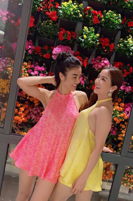 "Mac ao yem voi quan ""tang hinh"", hoa hau Julia Ho gay choang-Hinh-6"