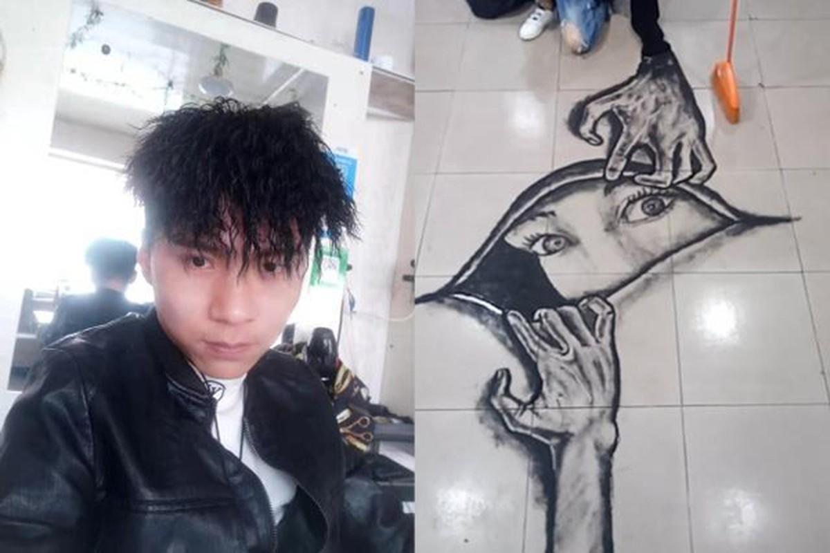 Dung toc va bot giat, chang trai ve tranh 3D song dong gay kinh ngac-Hinh-10