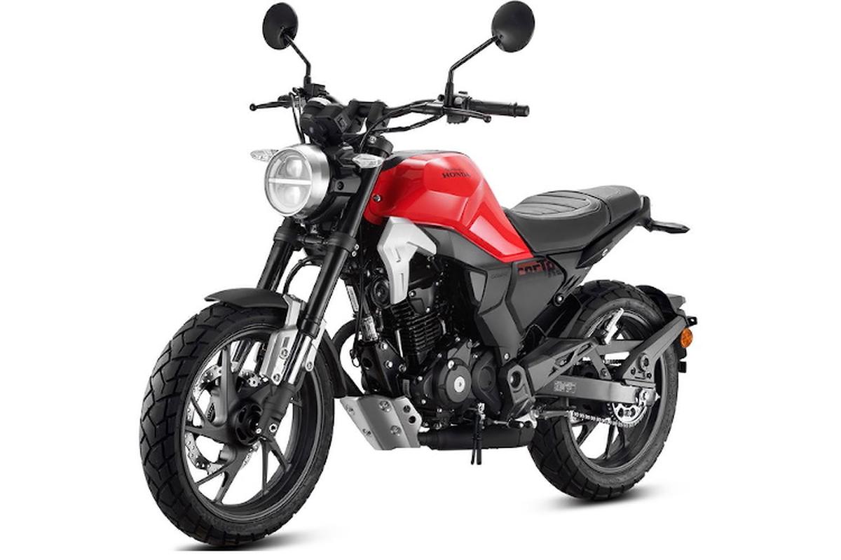 Xe moto Honda CBF190TR chi duoi 100 trieu tai VN