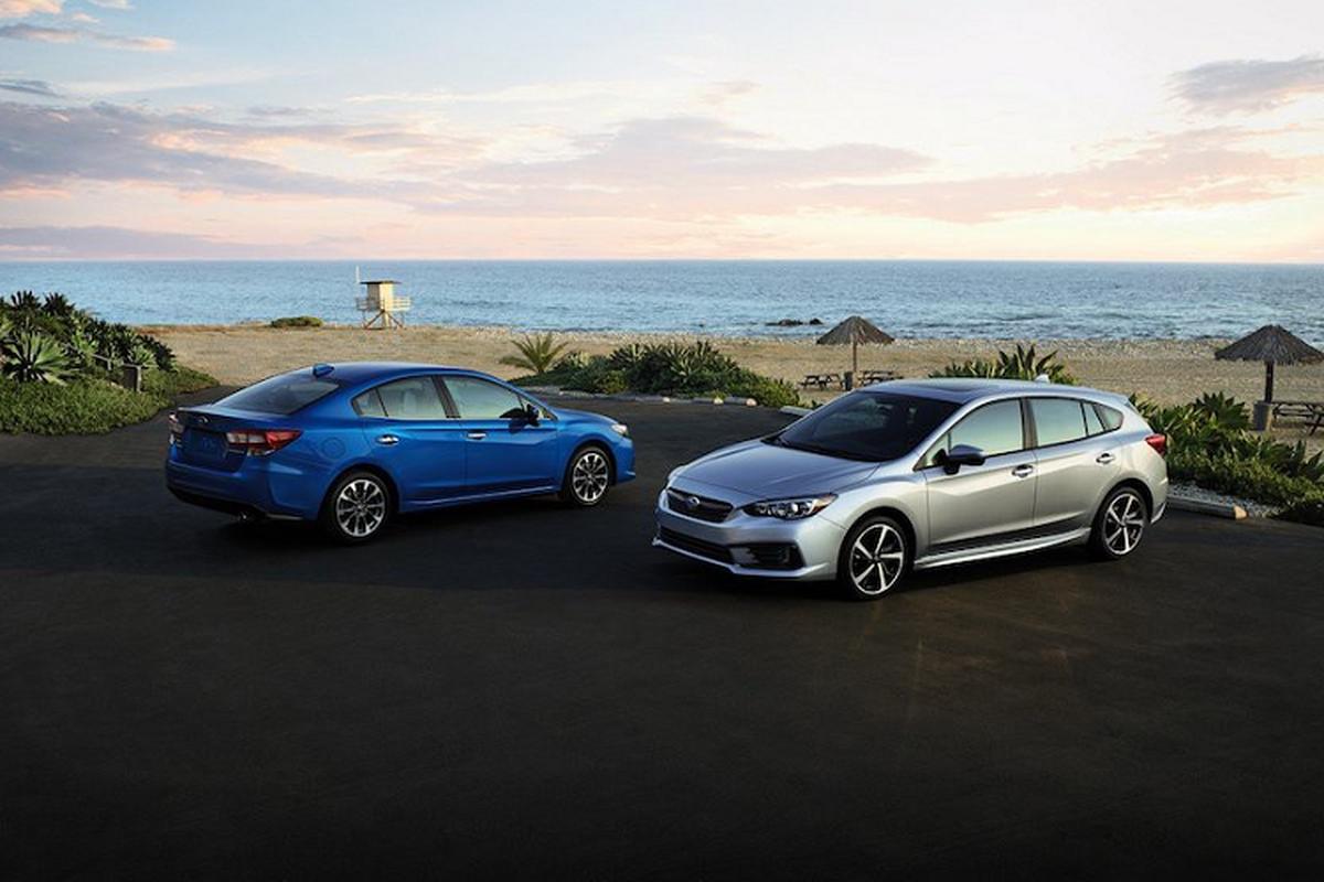 "Subaru Impreza 2020 cai tien gi de canh tranh ""doi thu"" Mazda3"