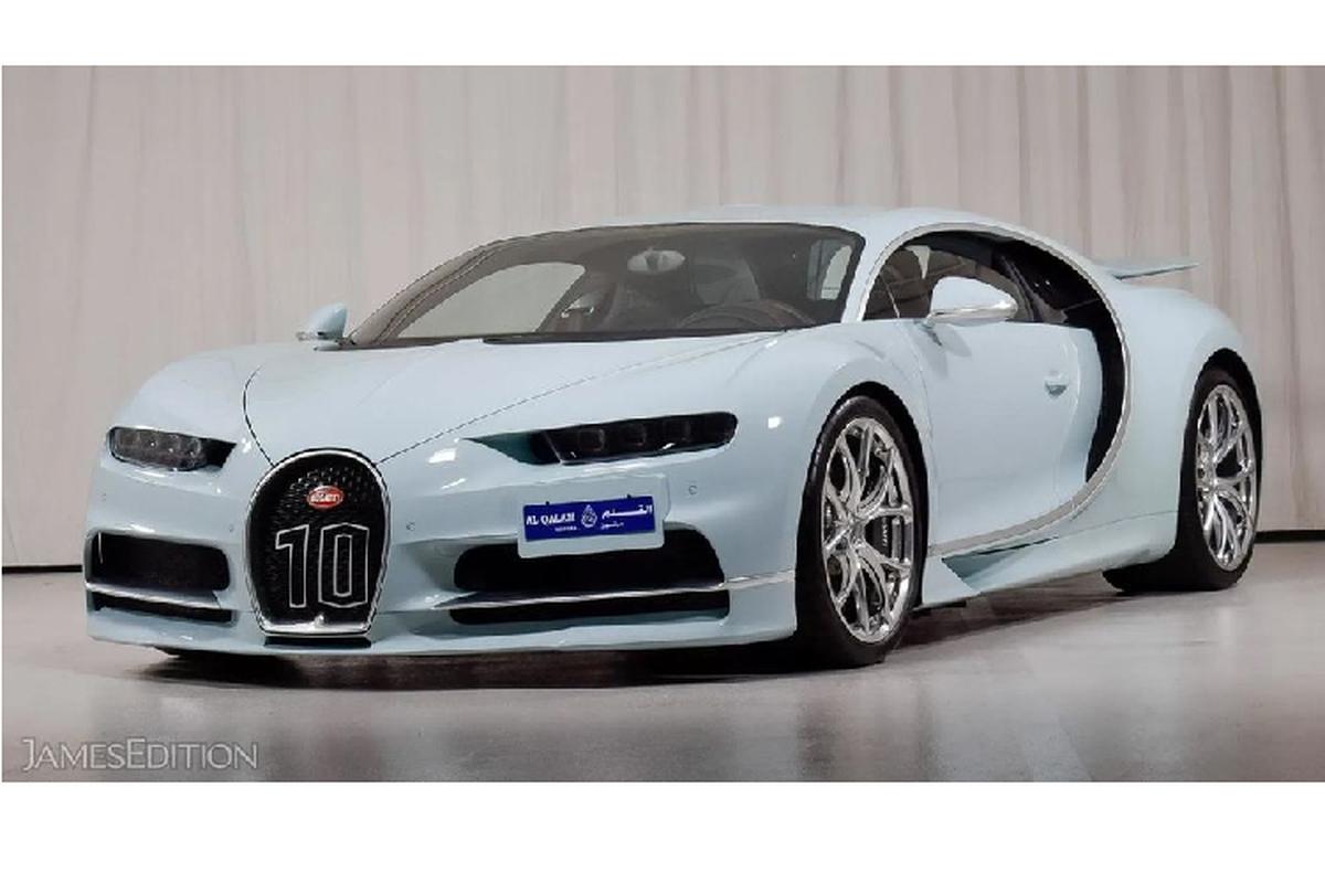 """Ngam sieu pham Bugatti Chiron Vainqueur de Coeur """"doc nhat"""""""