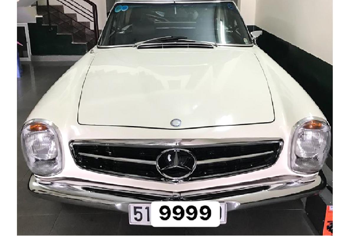 Chi tiet xe sang Mercedes-Benz 280 SL hon 50 tuoi tai Viet Nam