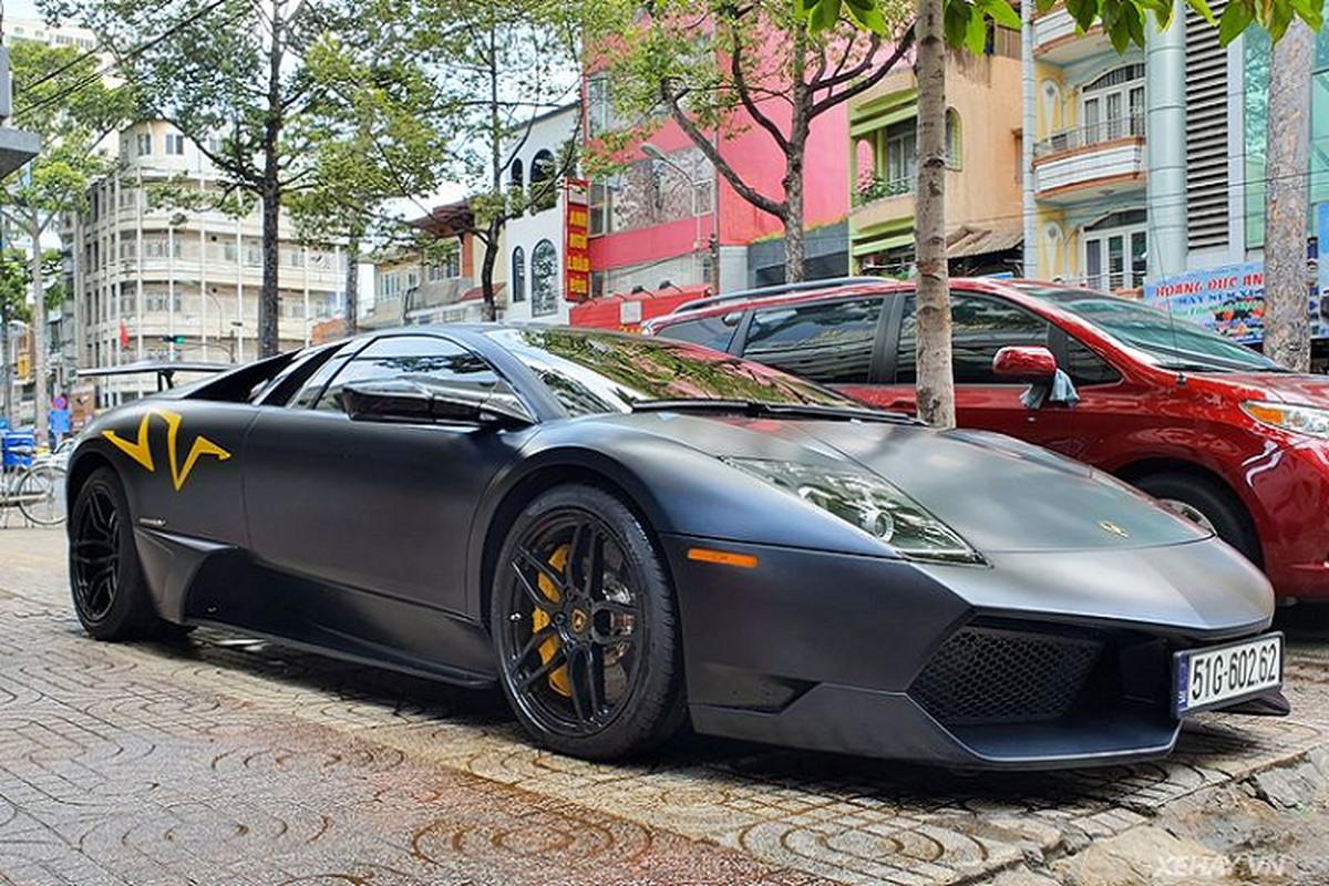 Sieu xe Lamborghini Murcielago SV mot thoi cua dai gia Minh nhua