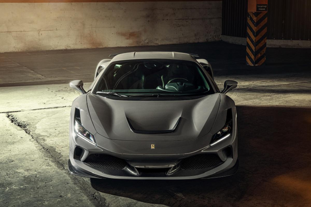 Sieu xe Ferrari F8 Tributo