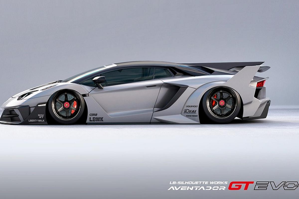 Lamborghini Aventador sieu ham ho voi goi do Liberty Walk-Hinh-5