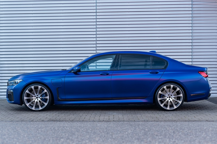 Chiec BMW 745Le xDrive cu nay manh hon ca M3 Competition 2021 moi-Hinh-3