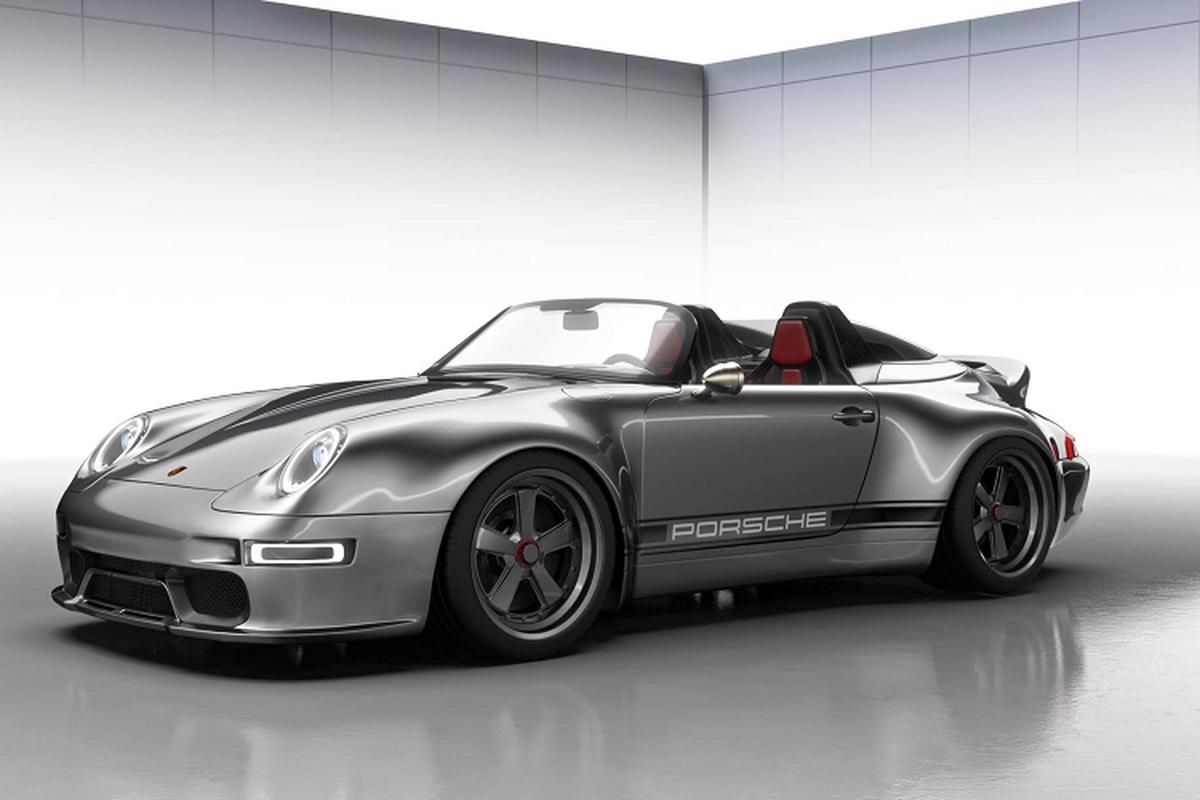 Gunther Werks 993 Speedster Remastered, Porsche 911 sieu dep-Hinh-4