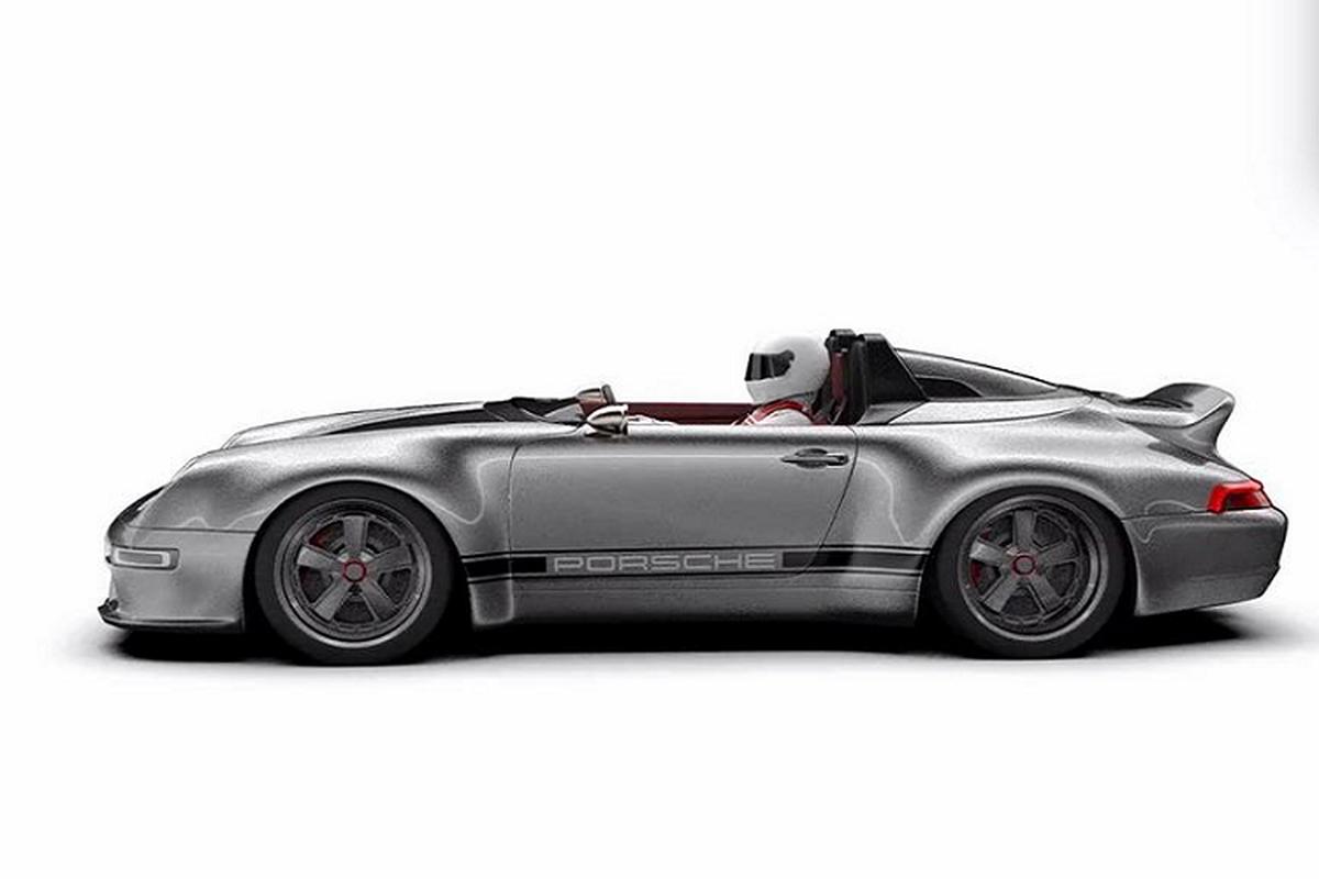 Gunther Werks 993 Speedster Remastered, Porsche 911 sieu dep-Hinh-5