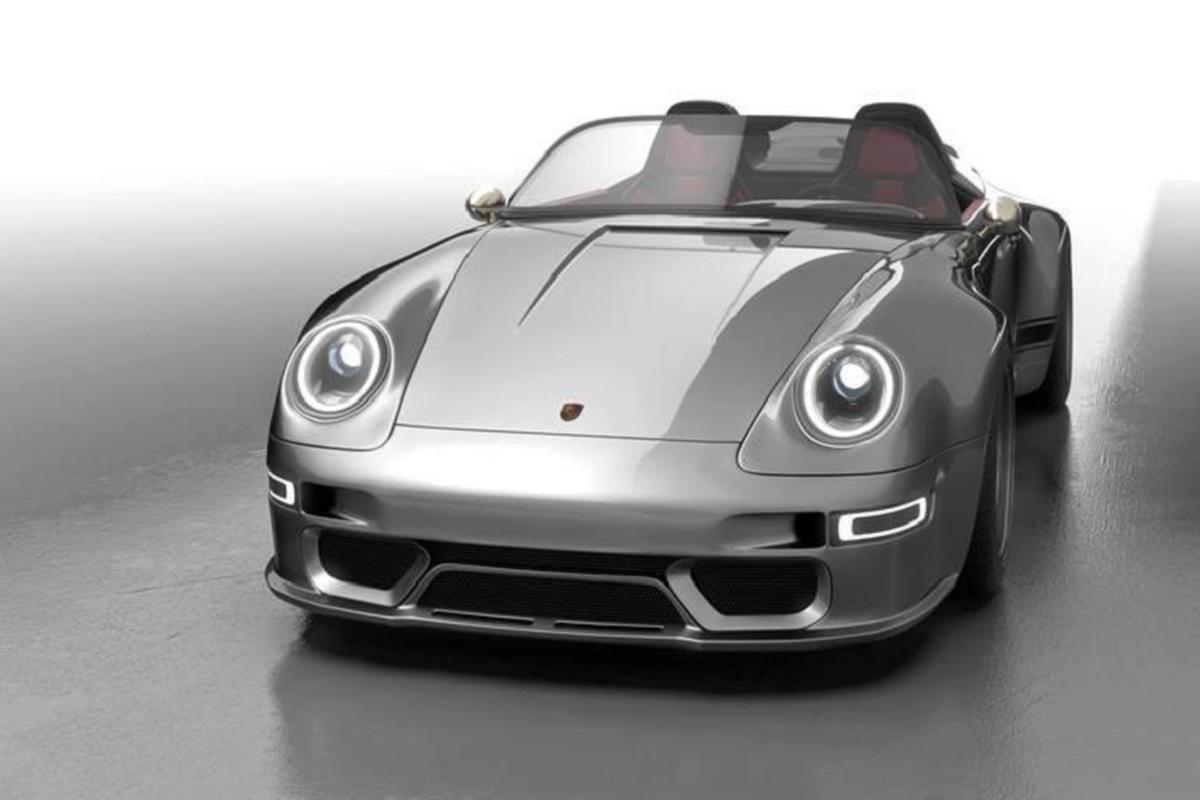 Gunther Werks 993 Speedster Remastered, Porsche 911 sieu dep-Hinh-6