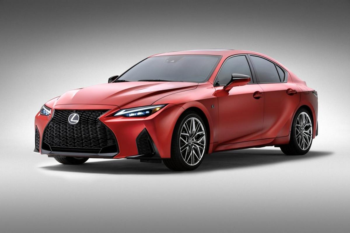 Ra mat xe sang the thao Lexus IS 500 F Sport Performance 2022