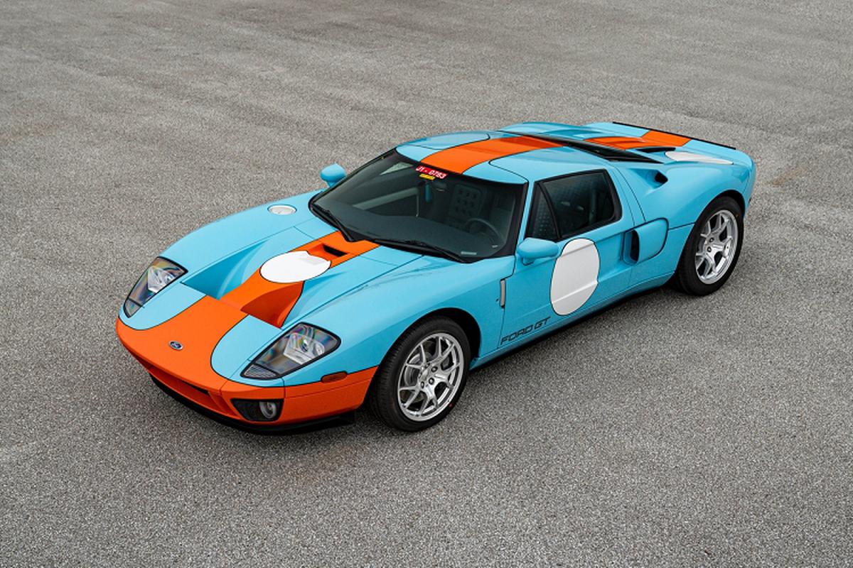 Sieu xe Ford GT Heritage Edition 2006 du tinh 605.000 USD-Hinh-3