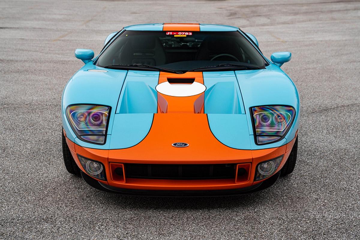 Sieu xe Ford GT Heritage Edition 2006 du tinh 605.000 USD-Hinh-6