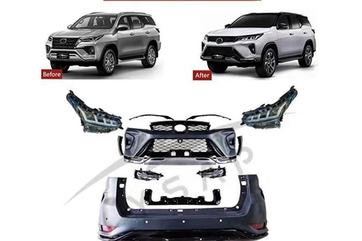Toyota Fortuner cu tai Viet Nam