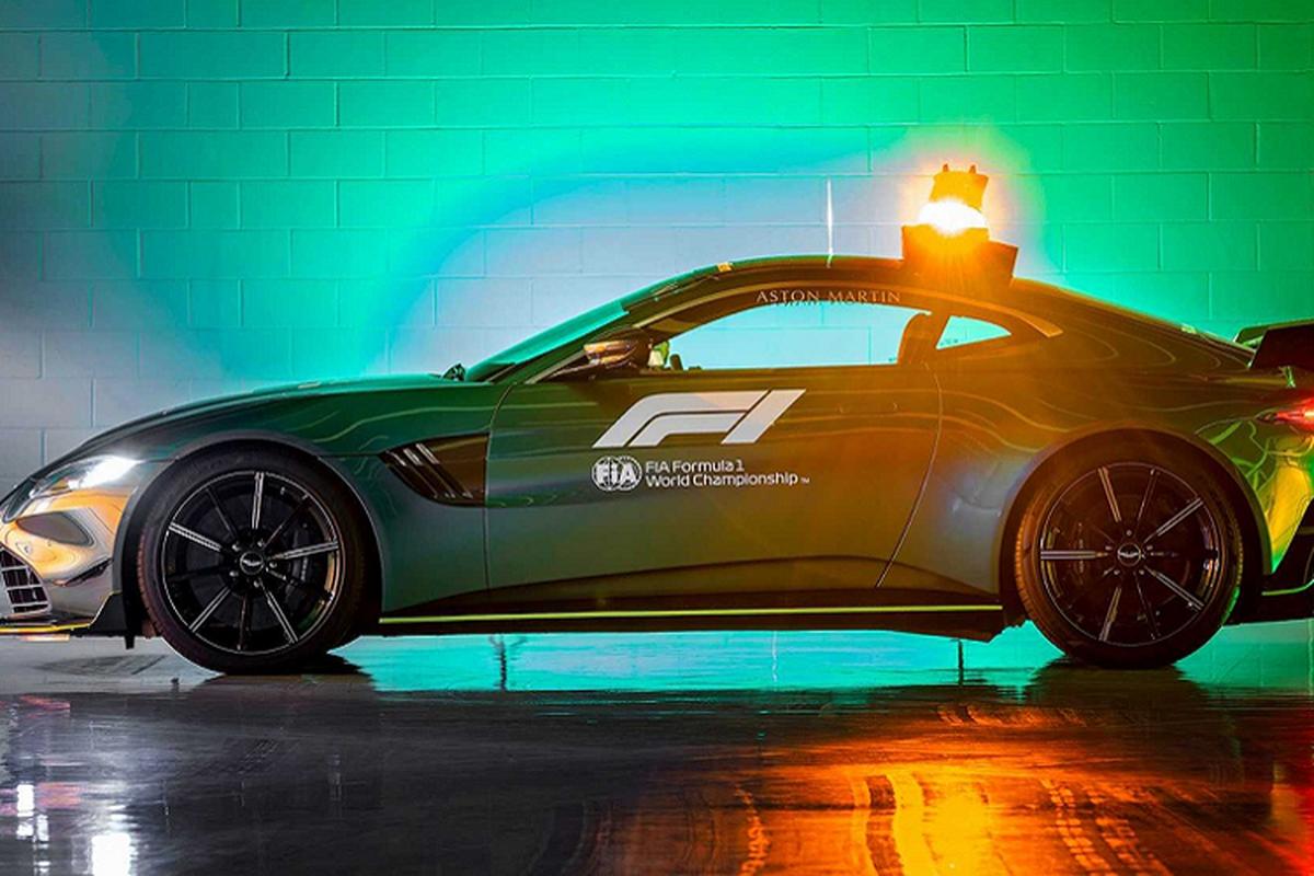 Sieu xe Aston Martin Vantage phien an toan tren duong dua F1-Hinh-8