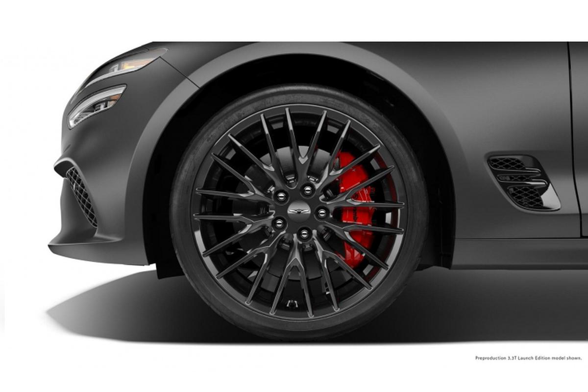 Genesis G70 Launch Edition sap ra mat tai My,