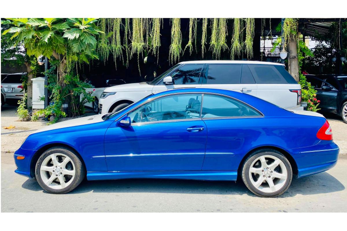 Can canh Mercedes-Benz CLK500 may V8 5.0L cuc hiem tai Viet Nam-Hinh-2