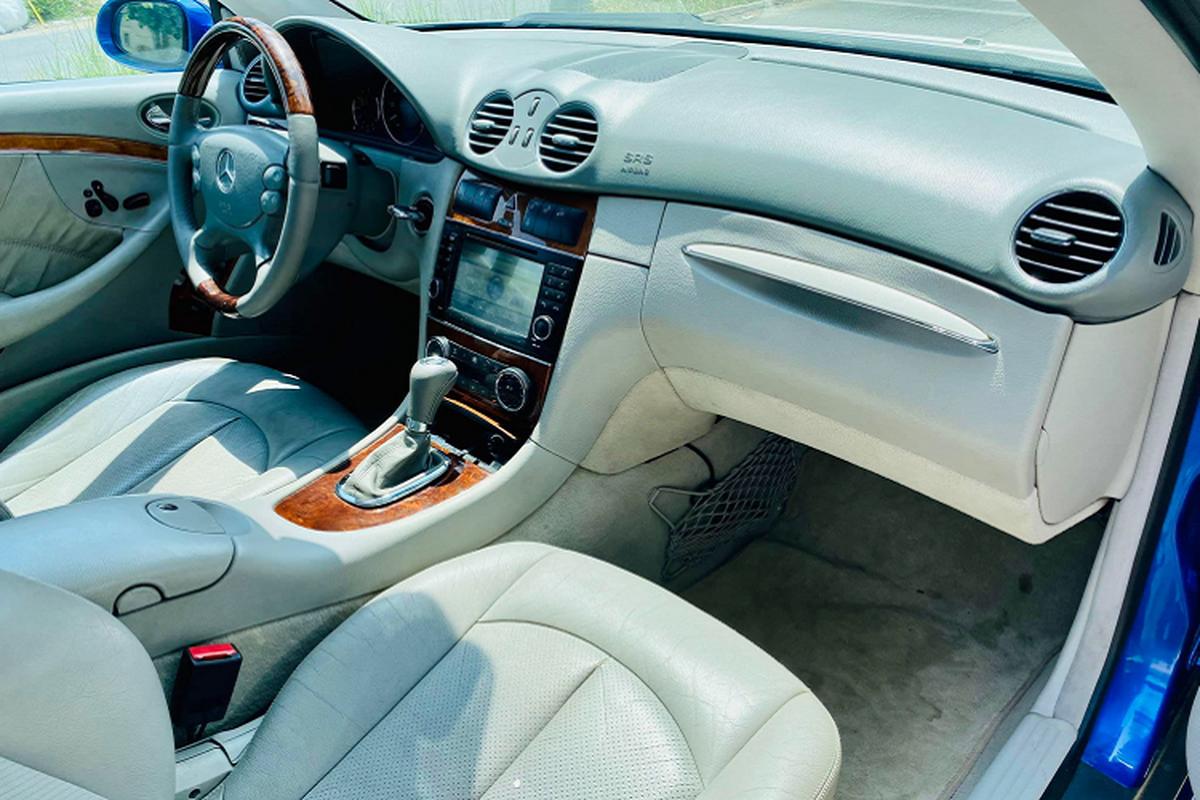 Can canh Mercedes-Benz CLK500 may V8 5.0L cuc hiem tai Viet Nam-Hinh-5
