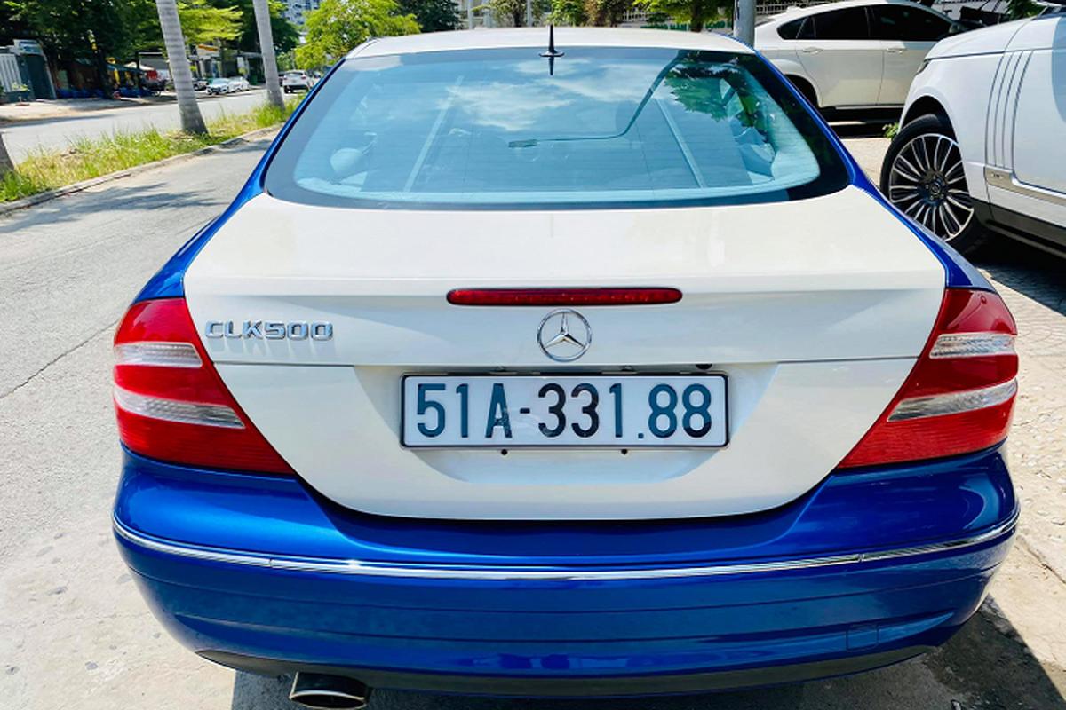 Can canh Mercedes-Benz CLK500 may V8 5.0L cuc hiem tai Viet Nam-Hinh-6